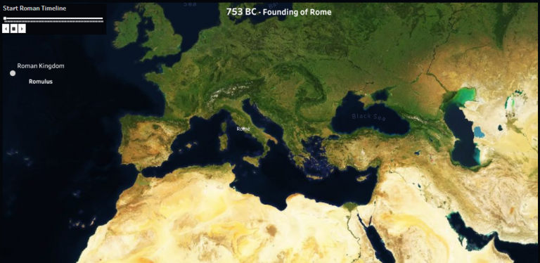 Roman Empire Timeline Tableau Software