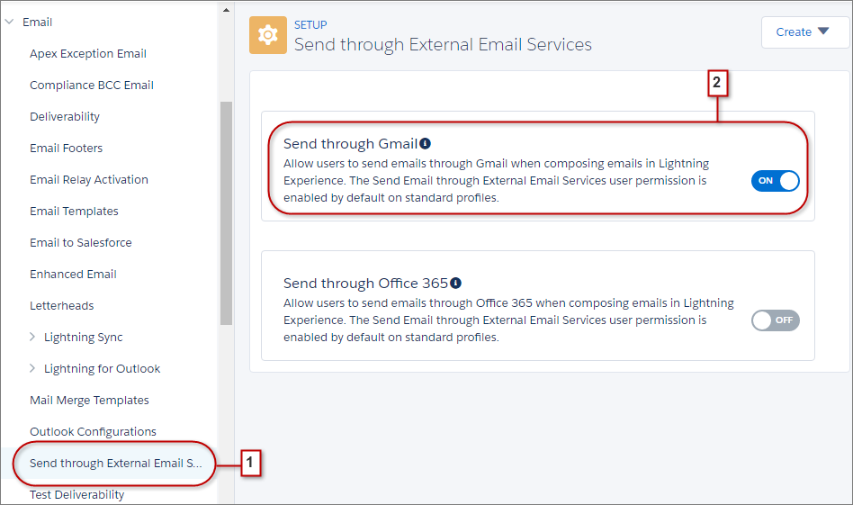 Salesforce Sales Cloud email integration btProvider