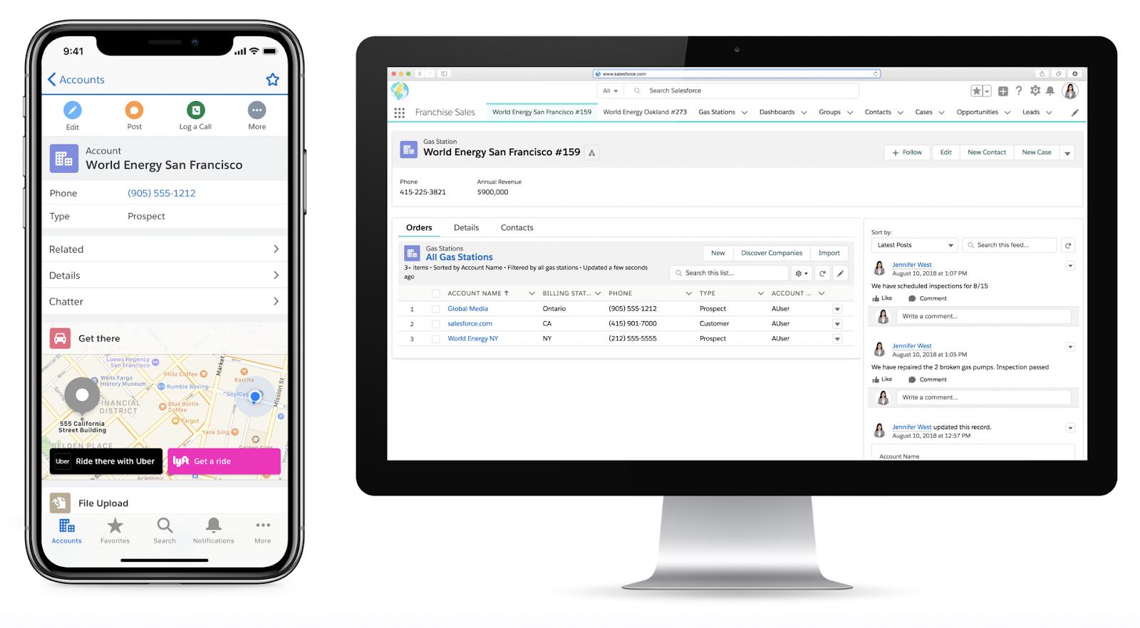 Salesforce Sales Cloud Mobile btProvider