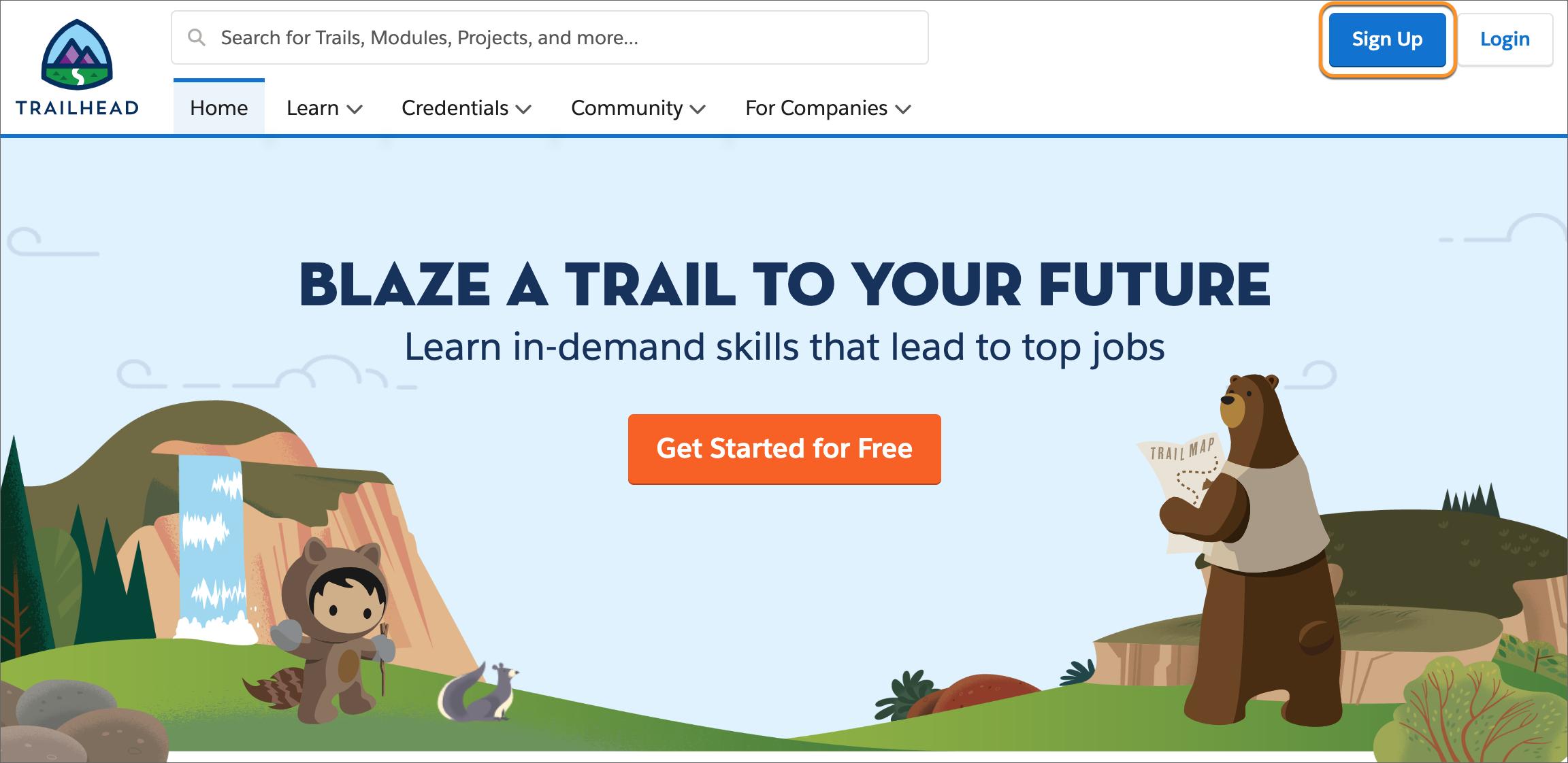 Salesforce Trailhead btProvider