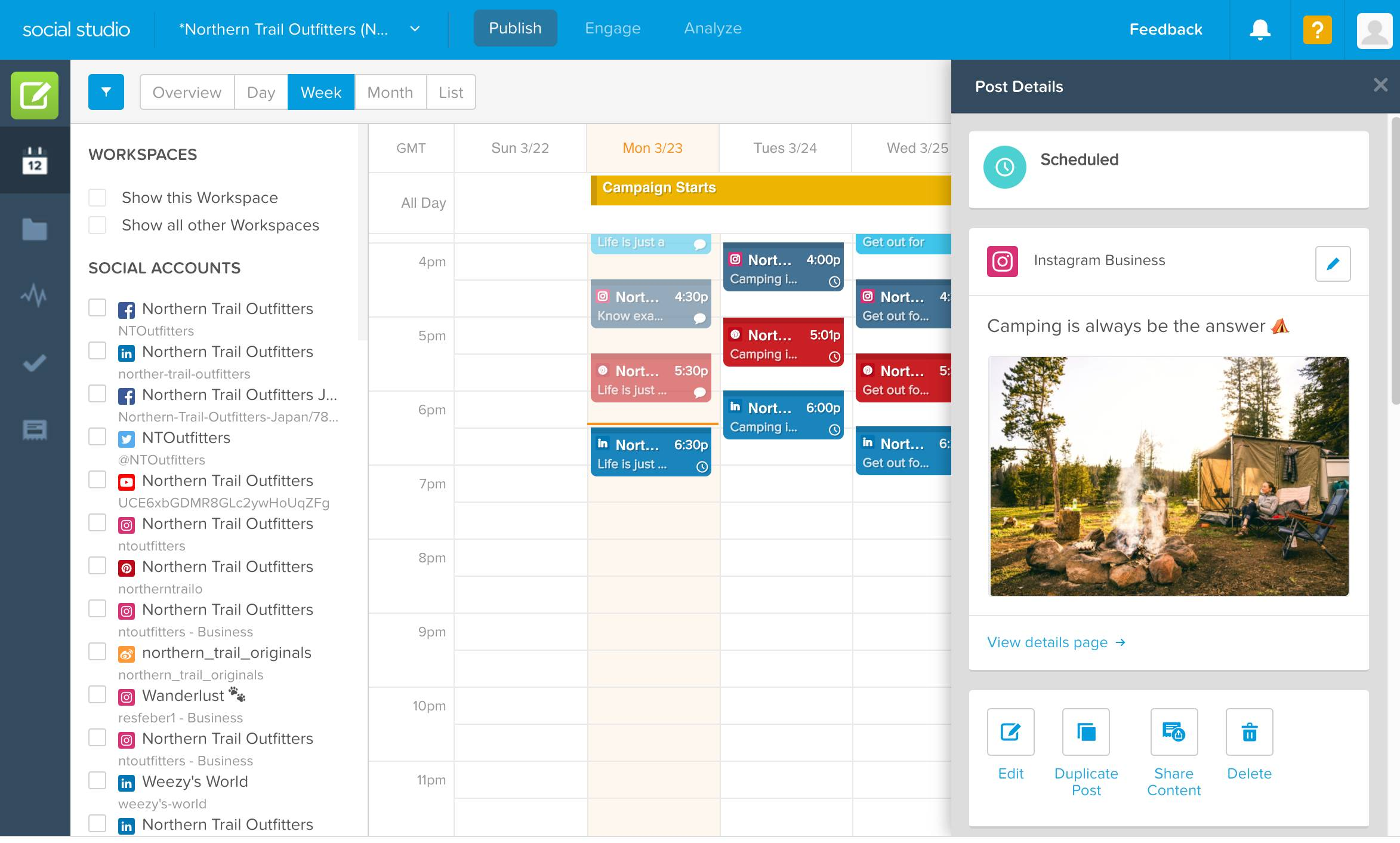 Social Studio Salesforce Marketing Cloud btProvider