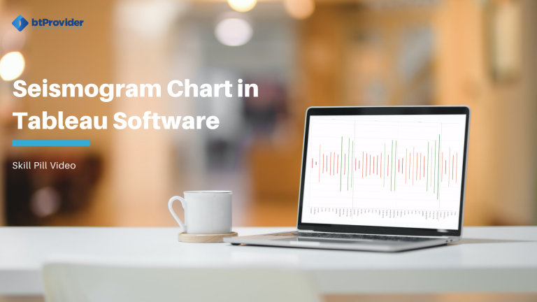 Seismogram Chart in Tableau Software