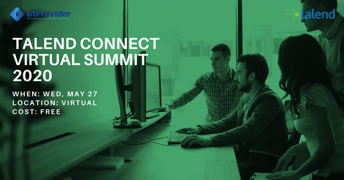 Talend Connect Virtual Summit 2020 btProvider
