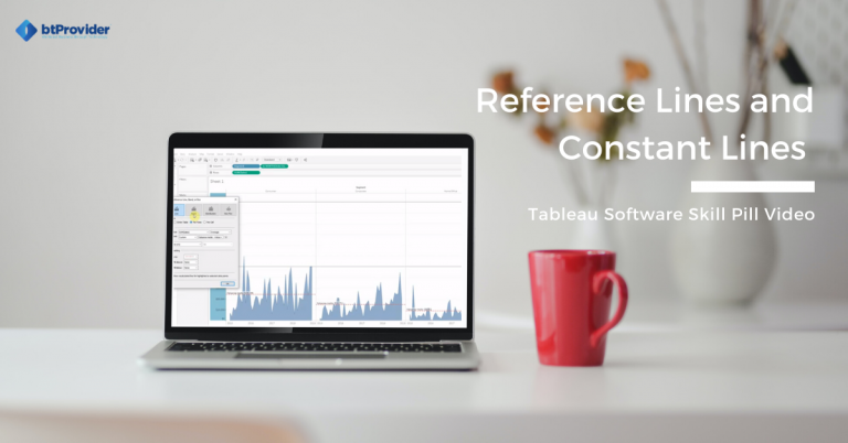 Reference Lines in Tableau Software