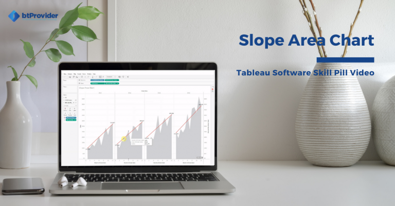 Slope Area Chart in Tableau Software