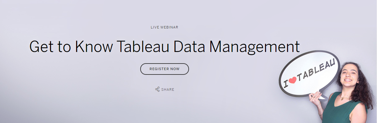 Tableau Data Management Webinar btProvider