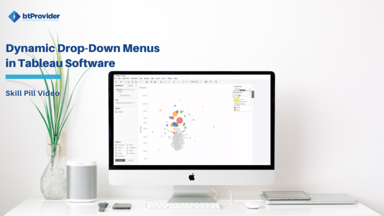 dynamic drop down menus tableau software btprovider
