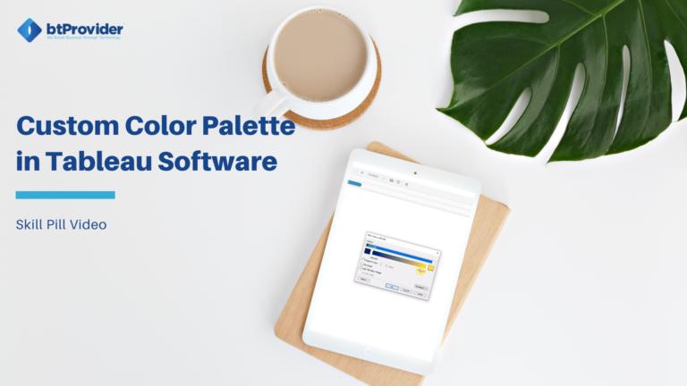 custom color palette tableau software