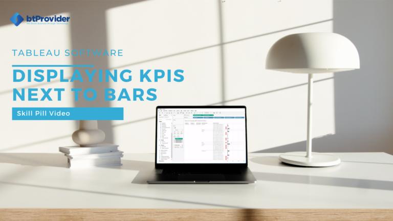 kpis next to bars tableau btprovider