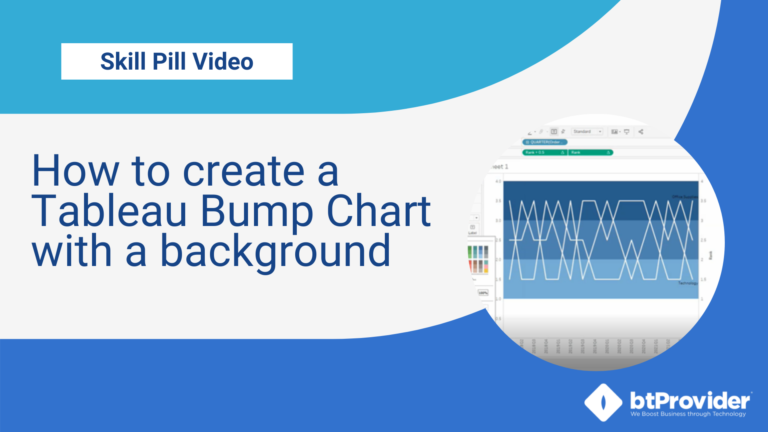 How to create a Tableau Bump Chart with a background