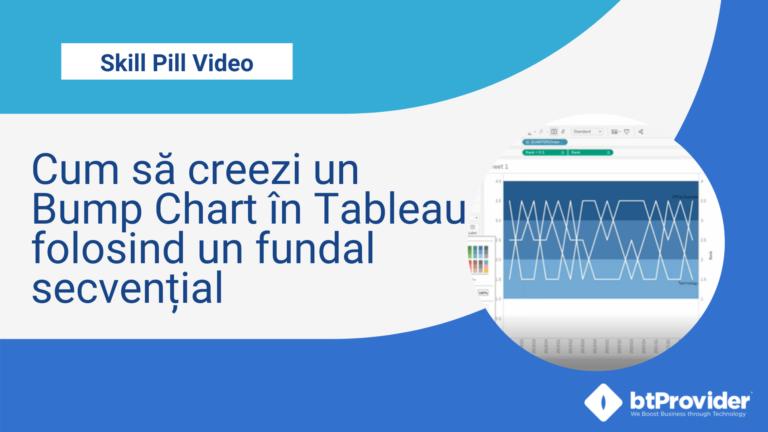 Cum să creezi un Bump Chart în Tableau