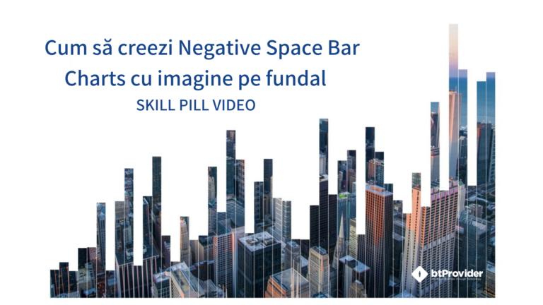Cum să creezi Negative Space Bar Charts cu imagine pe fundal